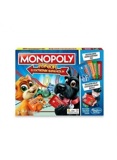 Hasbro E1842 Monopoly Junior Elektronik Bankacılık / +5 Yaş Renkli